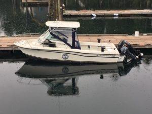 marina grady white boat